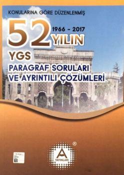 A Yayınları YGS Paragraf Soruları 52 Yılın Çıkmış Soruları ve Çözümleri