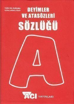 Açı Yayınları Deyimler ve Atasözleri Sözlüğü