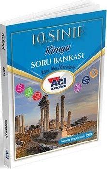 Açı Yayınları 10. Sınıf Kimya Soru Bankası