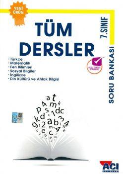 Açı Yayınları 7. Sınıf Tüm Dersler Soru Bankası