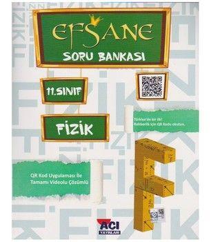 Açı Yayınları 11. Sınıf EFSANE Fizik Soru Bankası