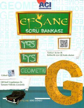 Açı Yayınları YGS LYS Efsane Geometri Soru Bankası