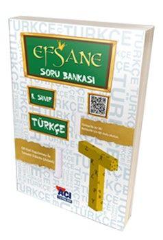 Açı Yayınları 8.Sınıf LGS Türkçe EFSANE Soru Bankası