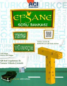 Açı Yayınları 8. Sınıf Türkçe Efsane Soru Bankası