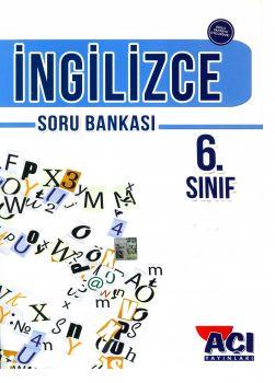 Açı Yayınları 6. Sınıf İngilizce Soru Bankası