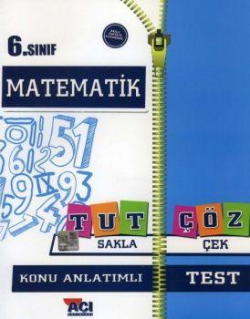 Açı Yayınları 6. Sınıf Matematik Tut Sakla Konu Anlatımı Çek Çöz Test