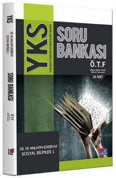 Açı Yayınları YKS 2. Oturum Dil ve Anlatım Edebiyat Sosyal Bilimler 1 ÖTF Ödev Takip Föyü Soru Bankası