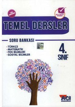 Açı Yayınları 4. Sınıf Tüm Dersler Soru Bankası