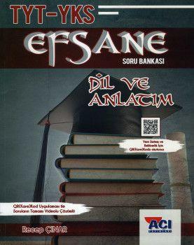 Açı Yayınları YKS 1. Oturum TYT Dil ve Anlatım EFSANE Soru Bankası