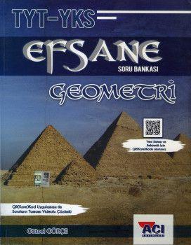 Açı Yayınları YKS 1. Oturum TYT Geometri EFSANE Soru Bankası