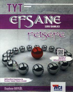 Açı Yayınları YKS 1. Oturum TYT Felsefe EFSANE Soru Bankası
