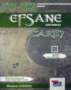 Açı Yayınları YKS 1. Oturum TYT Tarih EFSANE Soru Bankası