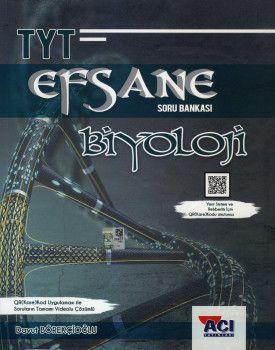 Açı Yayınları YKS 1. Oturum TYT Biyoloji EFSANE Soru Bankası