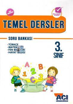 Açı Yayınları 3. Sınıf Tüm Dersler Soru Bankası