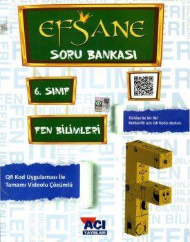 Açı Yayınları 6. Sınıf Fen Bilimleri EFSANE Soru Bankası