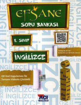 Açı Yayınları 8. Sınıf LGS İngilizce EFSANE Soru Bankası