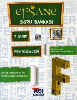 Açı Yayınları 7. Sınıf Fen Bilimleri EFSANE Soru Bankası