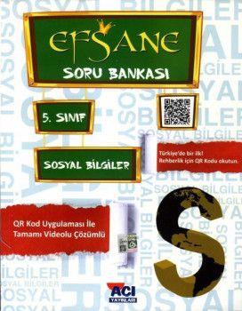 Açı Yayınları 5. Sınıf Sosyal Bilgiler EFSANE Soru Bankası