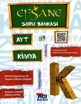 Açı Yayınları AYT Kimya EFSANE Soru Bankası