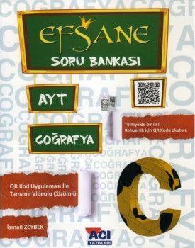 Açı Yayınları AYT Coğrafya EFSANE Soru Bankası