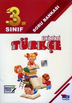 Açı Yayınları 3. Sınıf Türkçe Etkinlikli Soru Bankası