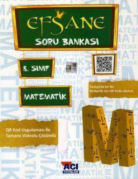 Açı Yayınları 8. Sınıf LGS Matematik Efsane Soru Bankası