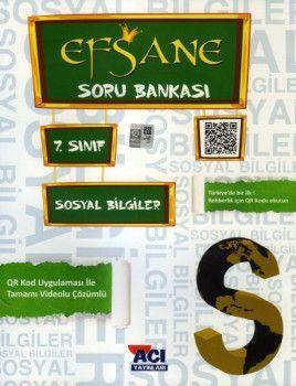 Açı Yayınları 7. Sınıf Sosyal Bilgiler EFSANE Soru Bankası