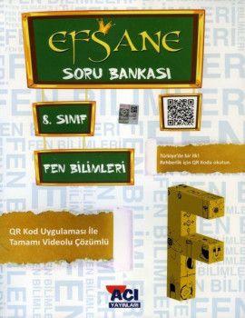 Açı Yayınları 8. Sınıf LGS Fen Bilimleri EFSANE Soru Bankası