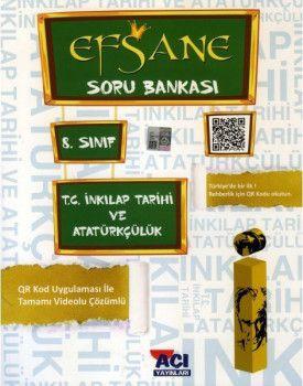Açı Yayınları 8. Sınıf LGS T.C. İnkılap Tarihi ve Atatürkçülük EFSANE Soru Bankası