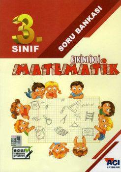 Açı Yayınları 3. Sınıf Matematik Etkinlikli Soru Bankası