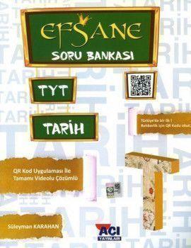 Açı Yayınları TYT Tarih EFSANE Soru Bankası