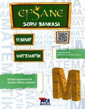 Açı Yayınları 11. Sınıf Matematik EFSANE Soru Bankası