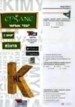Açı Yayınları 9. Sınıf EFSANE Kimya Çek Kopart Yaprak Test