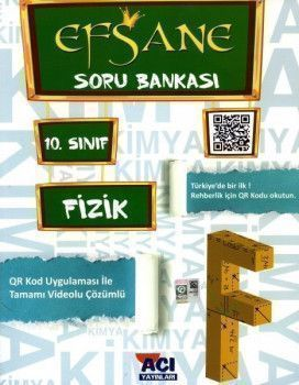Açı Yayınları 10. Sınıf EFSANE Fizik Soru Bankası