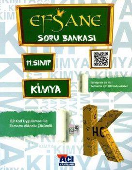Açı Yayınları 11. Sınıf EFSANE Kimya Soru Bankası