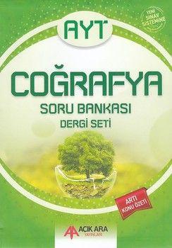 Açık Ara Yayınları AYT Coğrafya Soru Bankası Dergi Seti