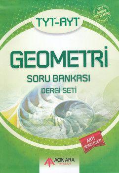 Açık Ara Yayınları TYT AYT Geometri Soru Bankası Dergi Seti