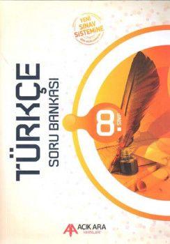 Açık Ara Yayınları 8. Sınıf Türkçe Soru Bankası
