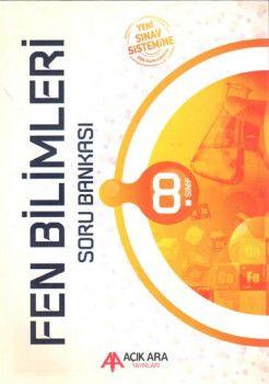 Açık Ara Yayınları 8. Sınıf Fen Bilimleri Soru Bankası