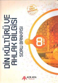 Açık Ara Yayınları 8. Sınıf Din Kültürü ve Ahlak Bilgisi Soru Bankası