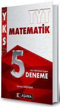 Aşama Yayınları TYT Matematik 5 Deneme