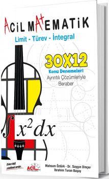 Acil Yayınları Acil Matematik Limit Türev İntegral Konu Denemeleri