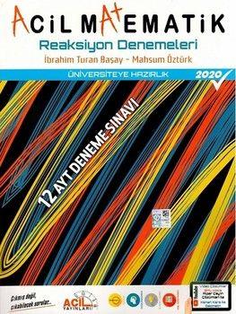 Acil Yayınları AYT Acil Matematik Reaksiyon 12 li Denemeleri