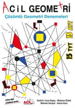 Acil Yayınları TYT AYT Acil Geometri Çözümlü Geometri Denemeleri