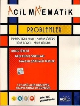 Acil Yayınları TYT Matematik Acil Problemler