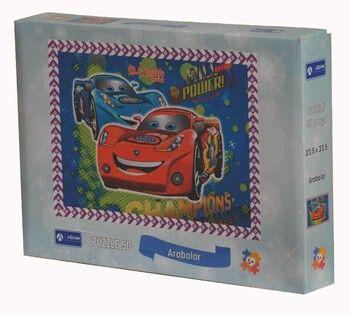 Adam Games Arabalar 50 Parça Puzzle 24 x 34