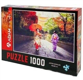 Adam Games Japon Kızları 1000 Parça Puzzle 48 x 68
