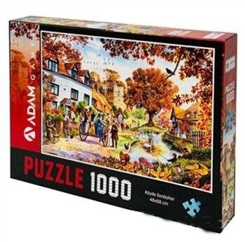 Adam Games Köyde Sonbahar 1000 Parça Puzzle 48 x 68