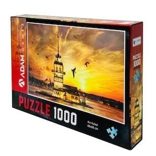 Adam Games Kız Kulesi 1000 Parça Puzzle 48 x 68
