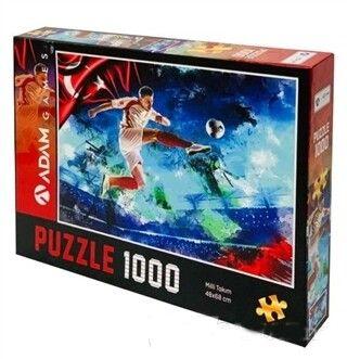 Adam Games Milli Takım 1000 Parça Puzzle 48 x 68